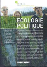 Etopia 1 : Revue d'écologie politique