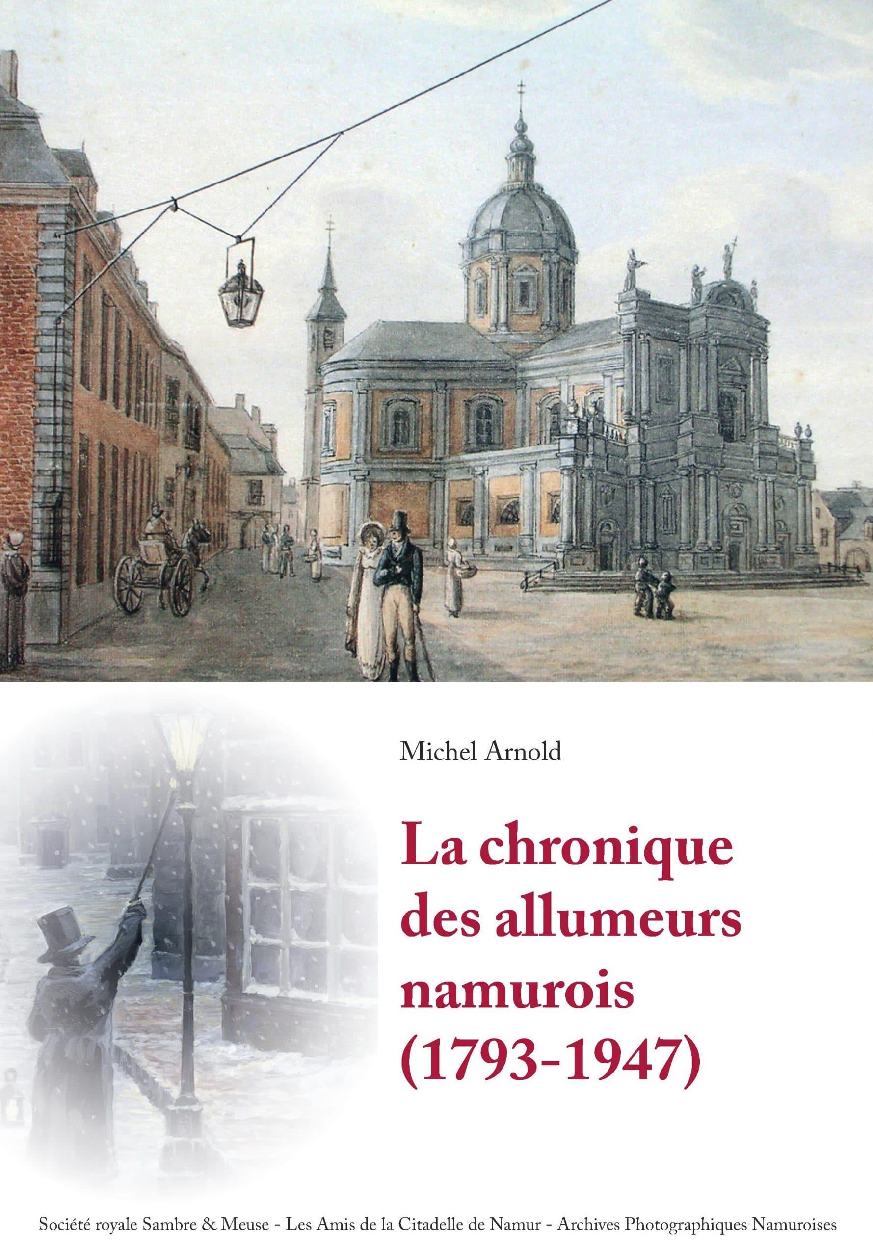 couverture livre chronique des allumeurs namurois