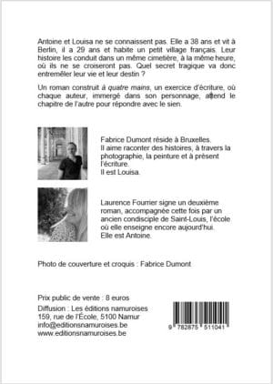 Dos livre Antoine et Louisa