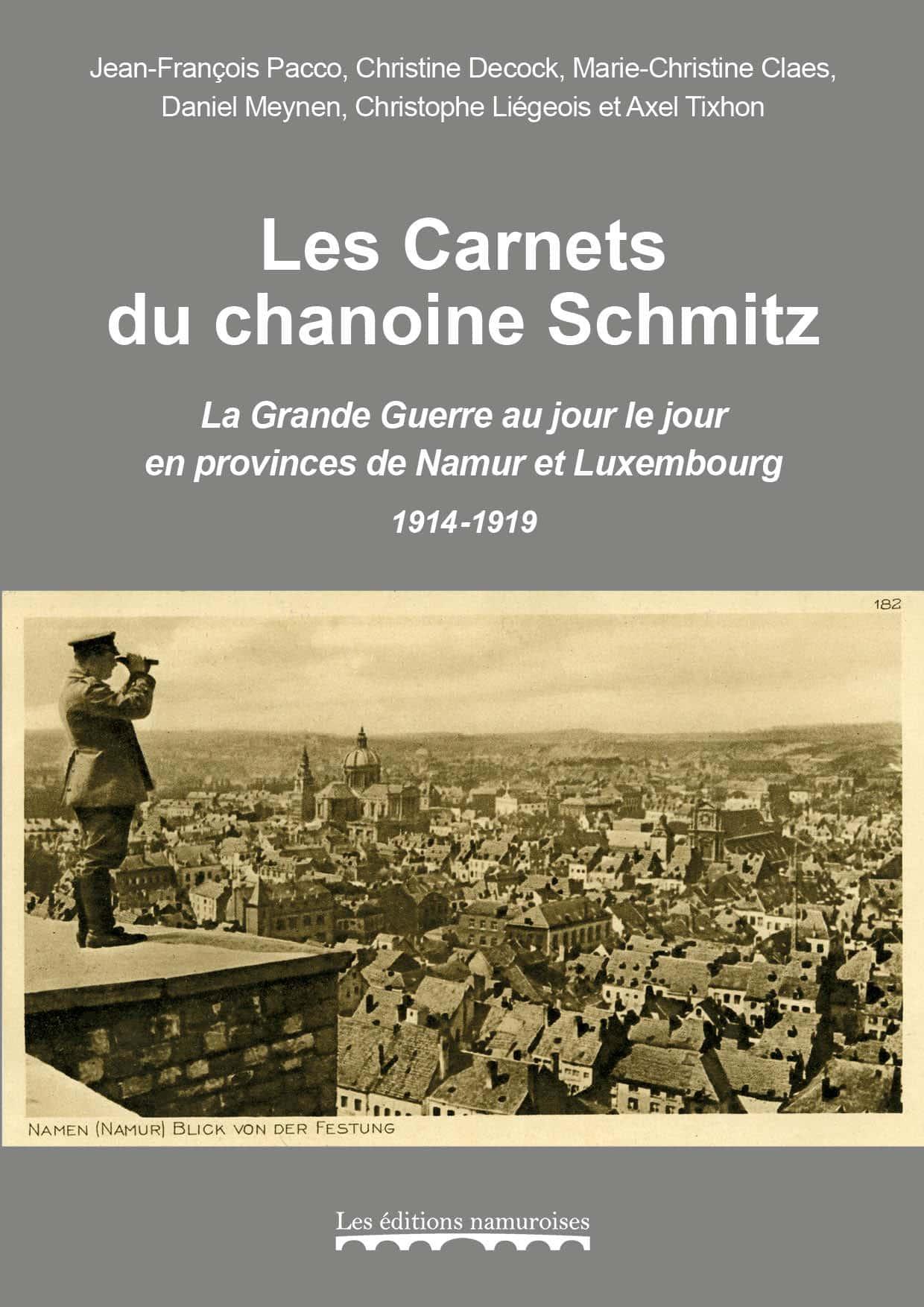 recto fourreau contenant deux livres sur chamoine Schmitz